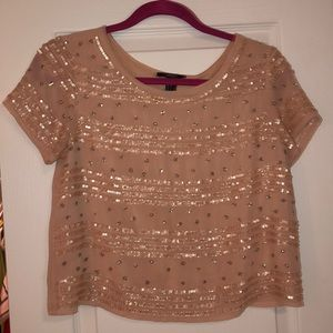 Sequined Forever 21 top